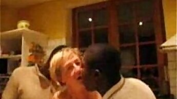 black wife destroying her food cabinet
