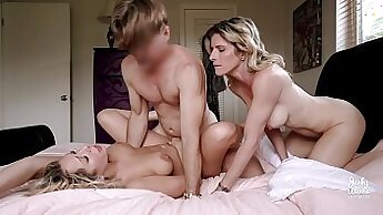 BIG TIT MILF DP THORNE GETS FUCKED OVER THE TOP BY HARD BODY MAN