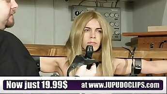 Blonde Sex Slave Gets Punished With Chokes - Factory Video
