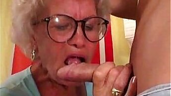 Crazy Inked Granny,Fucking,By Blondecomm
