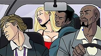 Cartoon beauty Lana Cadydeep interracial fucked