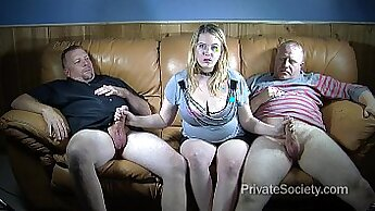 Cleaning up his wife porn xxx Sally fucks a deadbeat dad
