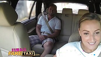 copulate in taxi with three cocks in the cab