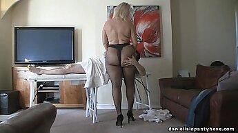 Attractive hottie gives an asshole massage