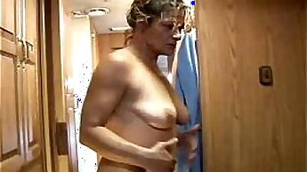 Amateur Mature Slut Playing With A Large Dick