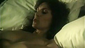 big-tits blonde MILF fucking in vintage sex video