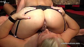 Big ass stalker ds shock and anal extreme and swallow