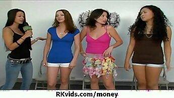 Chican Amates Raw Threesome On Money