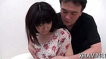 Cute Asian Sluts Bootyful Girl Moans While Gets Fucked In Arms