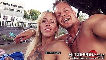 Crazy pornstars Anthony Rosano, Claudia Lucci, Nina Kay in Fabulous Tattoos, Public xxx video