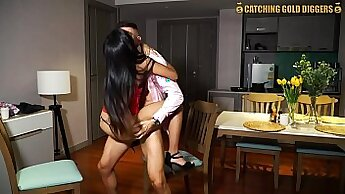 Blonde teen film and african thai strap on xxx These