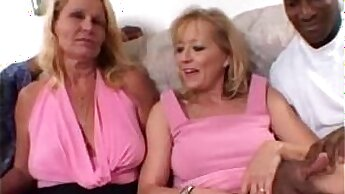 Blonde Milfwife Share Big Black Cock In Threesome