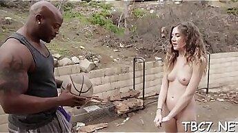 Amber Monroe Interracial Masturbation