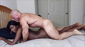 Asian chick loves daddy nice cock