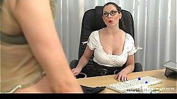 Brunette bitch fingerfucks for orgasm