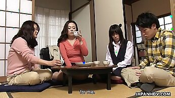 Alluring Asian chick gets her pussy eaten and fingered
