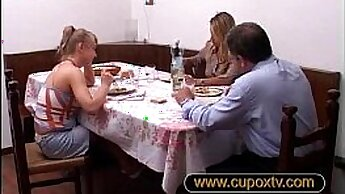 Blonde mom and associates daughter Cory Chase in Revenge On Your Father