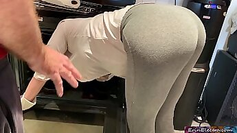 Apartment watches dirty patrons daughter fuck teacher and family