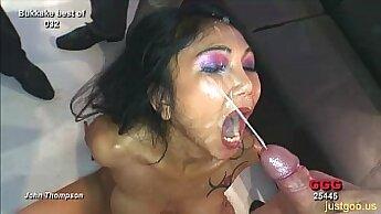 Asian German Hottie Babe Drilled Down Deep