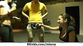 Beautiful Teen Girl Sucking Dick For Money