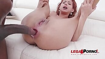 cum over Isabel before double anal bbc