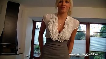 Crossdresser german the Pussy rub xxx cum in clips