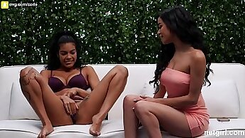 BJ Come Days With a Threesome Orgasm